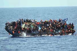 illigal migrants Libya